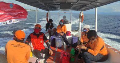 Patroli Pengawasan Pemanfaatan Kawasan Konservasi Perairan Nusa Penida Bulan Agustus 2021